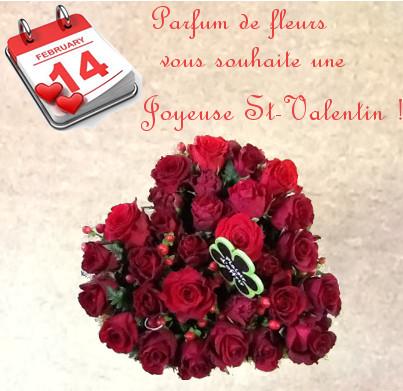 Offrir De Belles Fleurs D Amour Le Jour De La Saint Valentin