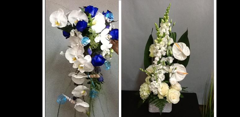 Mobile web page fleuriste mariage pornichet parfum de fleurs - Le bouquet de la mariee ...
