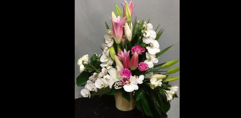 Mobile web page fleuriste mariage pornichet parfum de fleurs - Liste de mariage ambiance et style ...